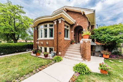 Franklin Park Single Family Home New: 3037 Gustav Street