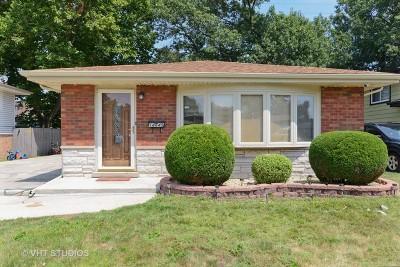 Dolton Single Family Home New: 14645 Memorial Drive
