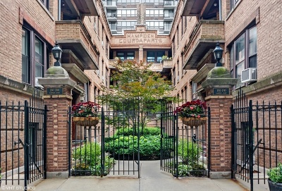 Condo/Townhouse New: 2745 North Hampden Court #1E