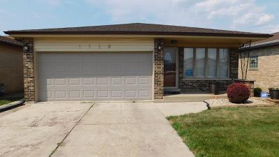 Calumet City Single Family Home New: 1118 Stewart Avenue
