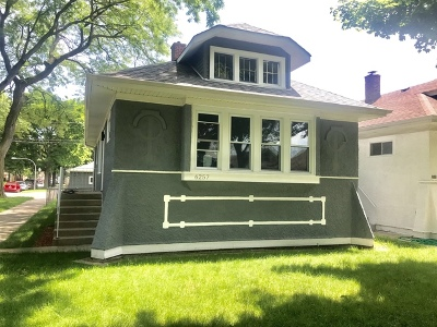 Chicago Single Family Home New: 6257 North Maplewood Avenue