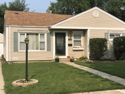 Mount Prospect Single Family Home For Sale: 314 North School Street