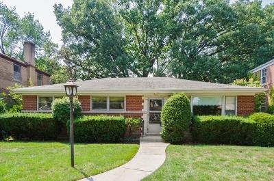 Skokie Single Family Home New: 8710 Springfield Avenue