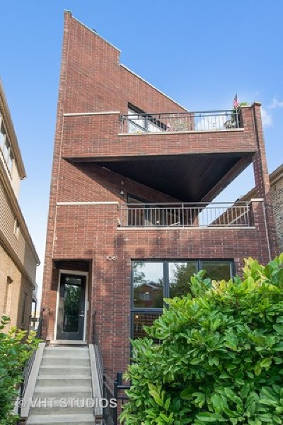 Condo/Townhouse For Sale: 1061 North Marshfield Avenue #1