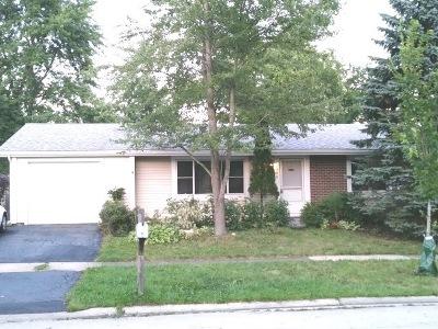 Hanover Park Single Family Home New: 5309 Garbo Lane