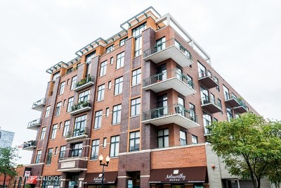 Condo/Townhouse For Sale: 3631 North Halsted Street #308