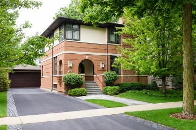 Glencoe Single Family Home For Sale: 319 Adams Avenue