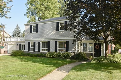 Arlington Heights Single Family Home New: 646 South Dryden Place