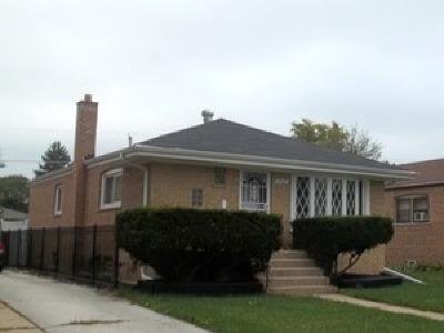 Dolton Single Family Home Contingent: 14427 Kimbark Avenue