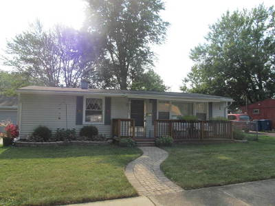 Steger Single Family Home For Sale: 254 Durham Drive
