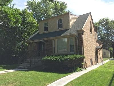 Single Family Home For Sale: 2327 North Oak Park Avenue