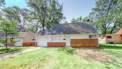 Park Forest Single Family Home New: 413 Westgate Drive