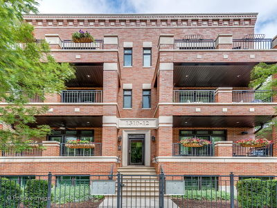 Condo/Townhouse For Sale: 1312 West Webster Avenue #1W