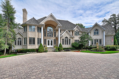 Barrington Hills Single Family Home New: 595 Plum Tree Road