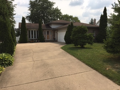 Bensenville Single Family Home New: 450 West Hillside Drive