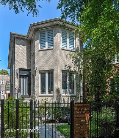 Chicago Single Family Home Re-Activated: 2334 West McLean Avenue
