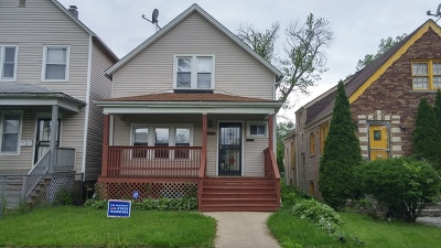 Chicago IL Single Family Home New: $145,000