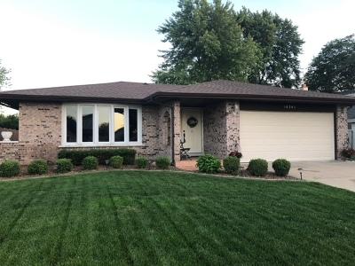 Homer Glen Single Family Home New: 14341 South Heather Lane