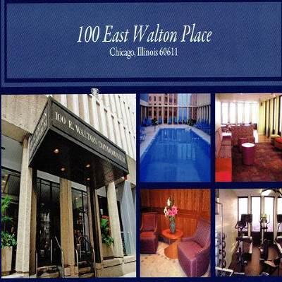 Condo/Townhouse For Sale: 100 East Walton Street #34E