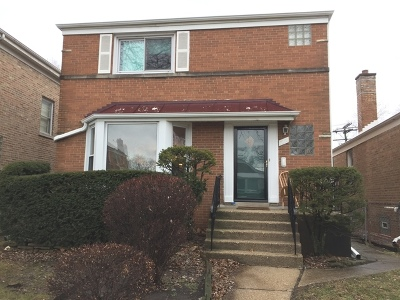 Single Family Home For Sale: 6250 North Troy Street