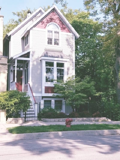 Chicago Single Family Home New: 2028 North Wolcott Avenue