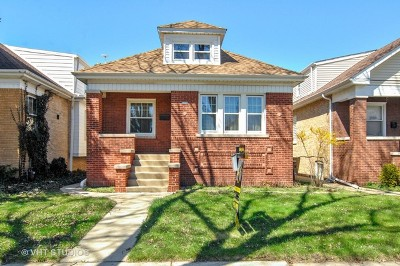 Chicago Single Family Home For Sale: 3634 North Linder Avenue