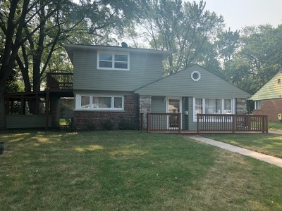 Park Forest Single Family Home New