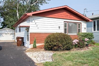 Oak Forest Single Family Home New: 15624 Laramie Avenue