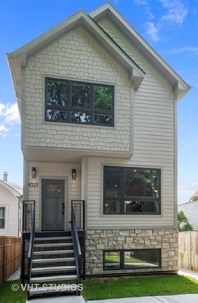 Chicago Single Family Home New: 4323 North Central Park Avenue