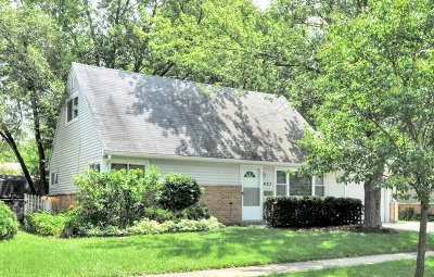Park Forest Single Family Home New: 427 Wildwood Drive