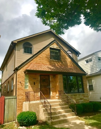 Chicago Single Family Home New: 5218 North Nashville Avenue