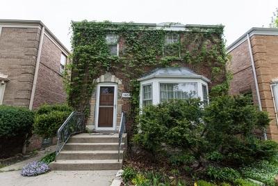 Single Family Home For Sale: 1854 North Nashville Avenue