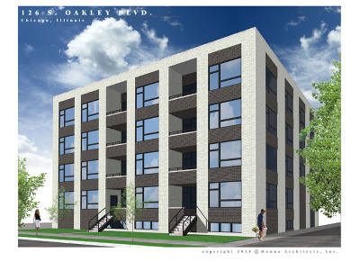 Chicago Condo/Townhouse New: 126 South Oakley Boulevard #2N
