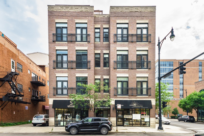Condo/Townhouse For Sale: 1167 West Madison Street #2E