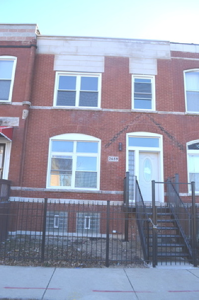 Chicago Single Family Home New: 2659 West Maypole Avenue