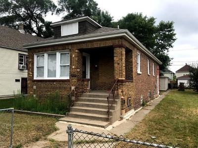 Chicago IL Single Family Home New: $127,000