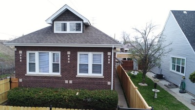 Chicago Single Family Home New: 3601 West 64th Place
