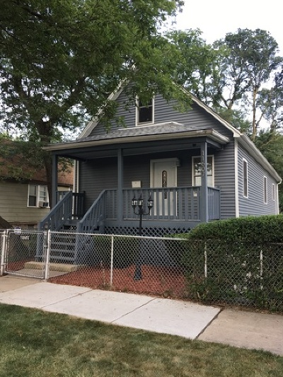 Chicago IL Single Family Home New: $222,000