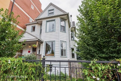 Chicago Single Family Home New: 4117 North Pulaski Road