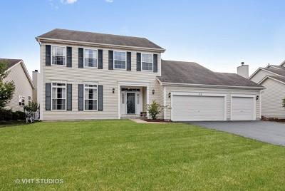 Oswego Single Family Home For Sale: 712 Manhattan Circle