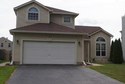 Bartlett Single Family Home New: 317 Sundance Drive