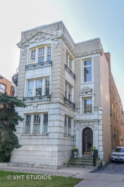 Evanston Condo/Townhouse For Sale: 642 Sheridan Square #3