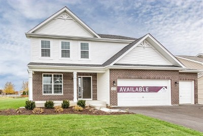 Minooka, Channahon Single Family Home Price Change: 26534 West Old Stage Lot#16 Lane