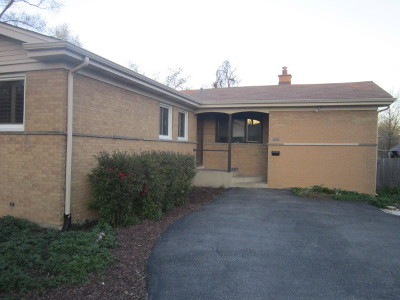 Downers Grove Single Family Home For Sale: 5925 Carpenter Street