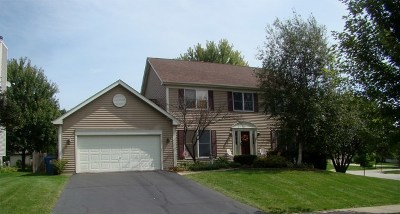 West Dundee Single Family Home For Sale: 1101 Thatcher Trail