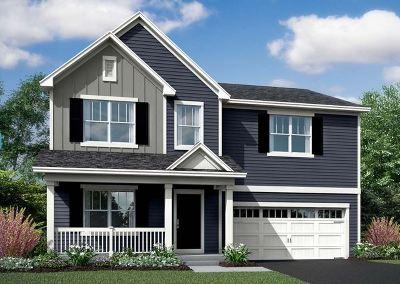 Elgin Single Family Home New: 318 Longview Lot # 82 Drive
