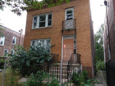 Chicago Multi Family Home New: 6616 South Marshfield Avenue