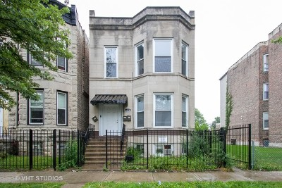 Chicago Multi Family Home New: 6629 South Langley Avenue