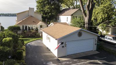 Fox Lake Single Family Home Price Change: 4 North Lake Avenue