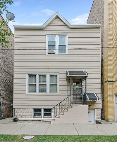 Chicago Multi Family Home New: 3037 West George Street